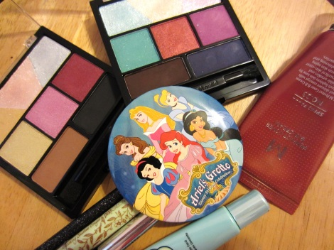 Disney princess inspired looks using the new Wet n Wild Color Icon Eyeshadow Medley
